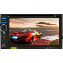 6116A/B/C 6.2 Inch  Universal Double DIN Car DVD Player