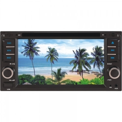 6091 6.2 Inch TOYOTA Universal Double DIN Car DVD Player