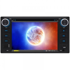 6348A/B 6.95 Inch TOYOTA Universal Double DIN Car DVD Player