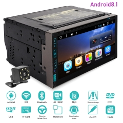 6.95 Inch Universal Android Car DVD Player T3 system