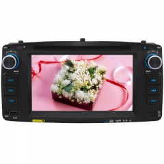 6.2 Inch TOYOTA COLLORA 2003 Double DIN Car DVD Player