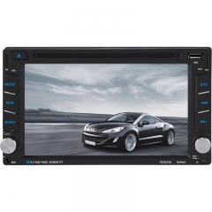 6002A/B 6.2 Inch  Universal Double DIN Car DVD Player