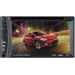 6066A/B/C 6.2 Inch  Universal Double DIN Car DVD Player